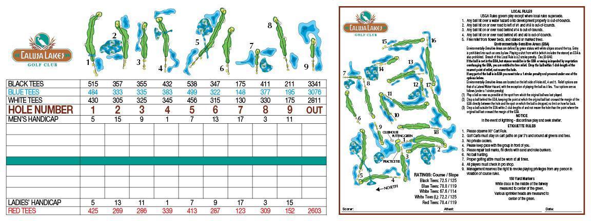Calusa Lakes Golf Club, Sarasota, Florida - Golf course ...